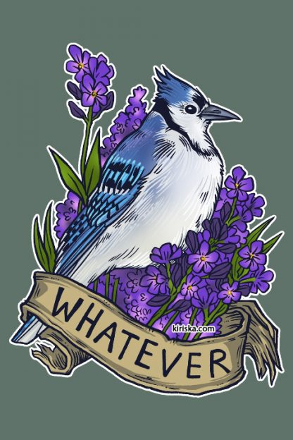 Bluejay and lavender