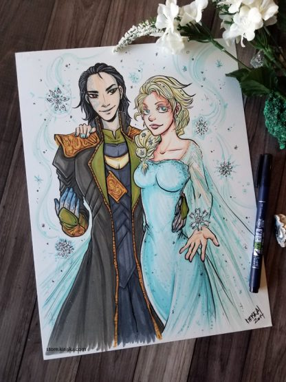 Loki and Elsa because why not