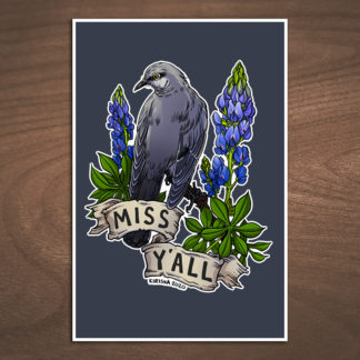 Northern mockingbird print mockup