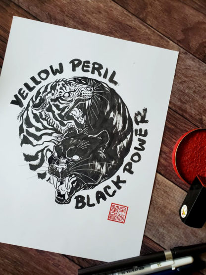 Yellow Peril Black Power