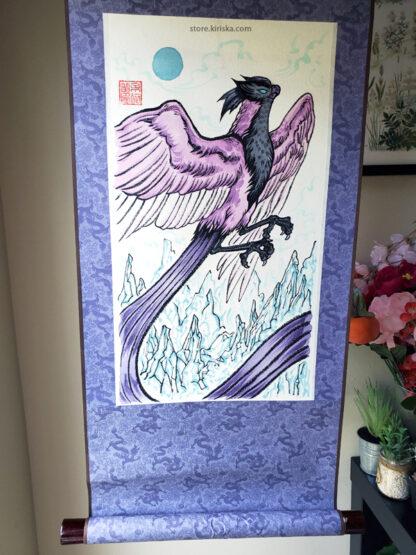 Galarian Articuno original scroll art