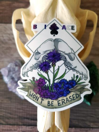 Bi Ace pride sticker