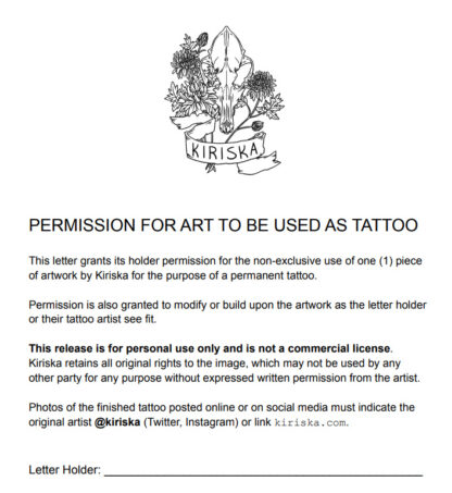 Tattoo Release preview