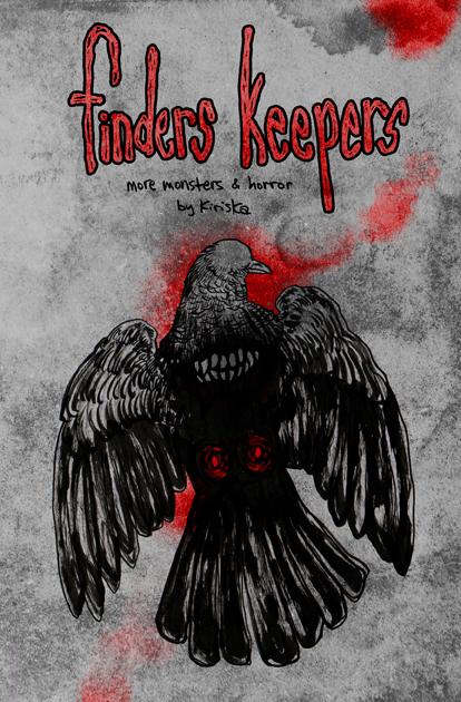 Original horror zine, FINDERS KEEPERS