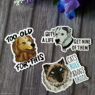 Homeward Bound stickers